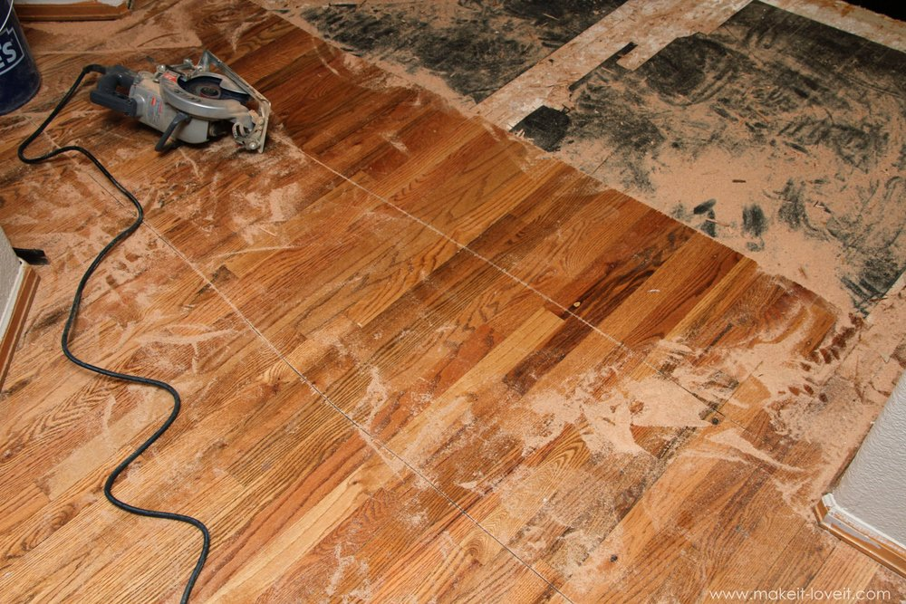 Home Improvement How To Remove Hardwood Floors Make It And Love It