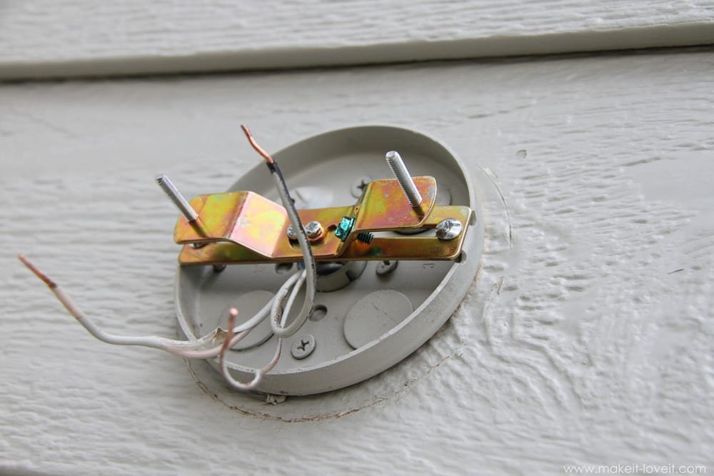 Home Improvement: Replacing Outdoor Light Fixtures (don\'t be scared ...