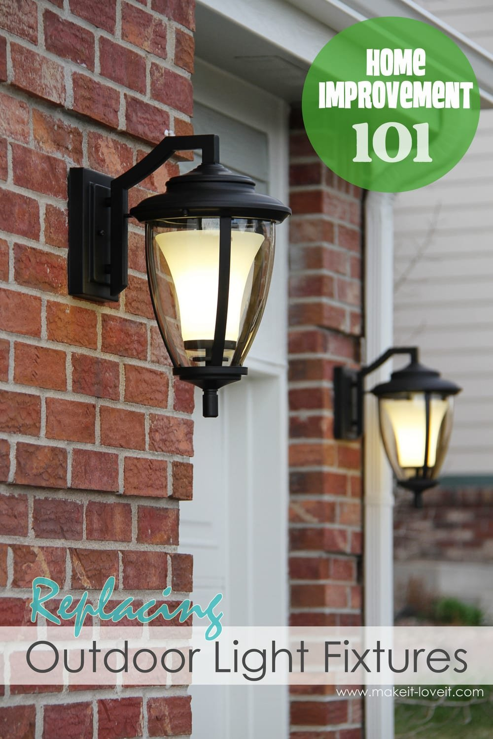 Enjoyable Home Improvement Replacing Outdoor Light Fixtures Dont Be Scared Wiring 101 Archstreekradiomeanderfmnl