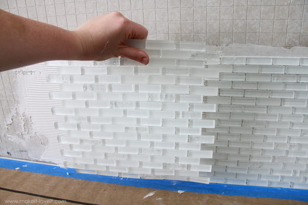 Home Improvement Laying Tile On A Fireplace Walls Or Backsplash