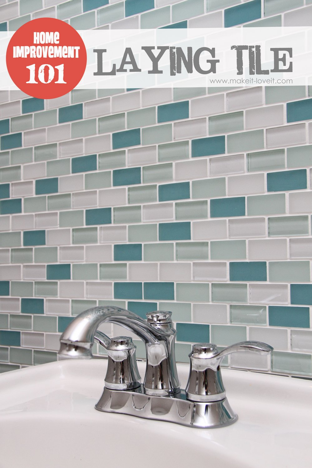 Home Improvement: Laying Tile (on a fireplace, walls, or backsplash ...