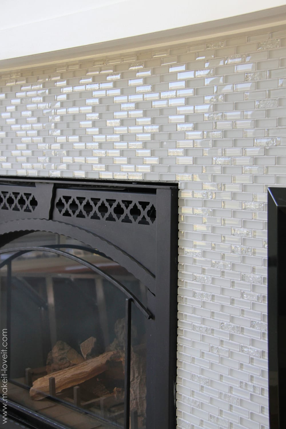 Laying Wall Tile In Kitchen