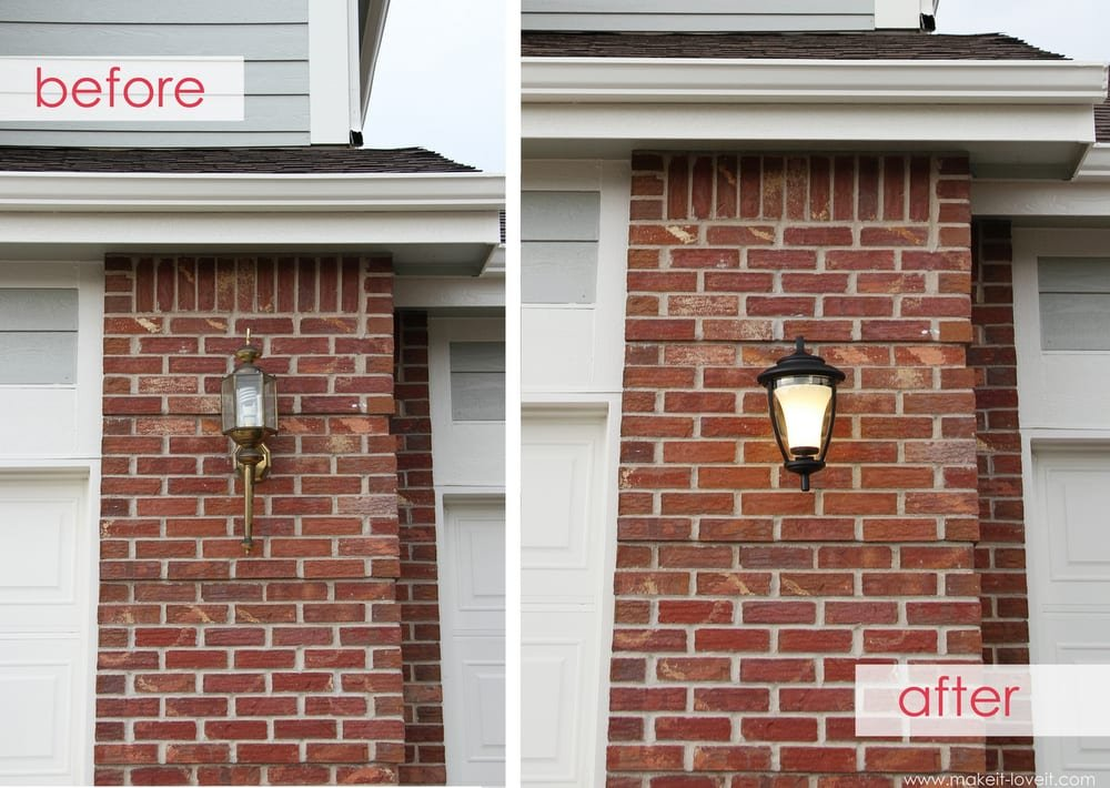 Home Improvement Replacing Outdoor Light Fixtures Don T Be Scared
