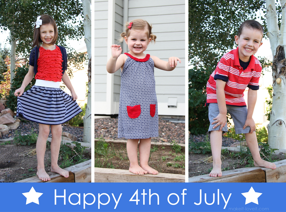 Keepin' it Cheap for the 4th of July…{men's shorts into BOY SHORTS and women's shirt into GIRL SKIRT}