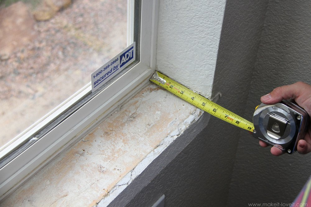 Home improvement trimming a window replacing the sill - How to replace exterior window trim ...