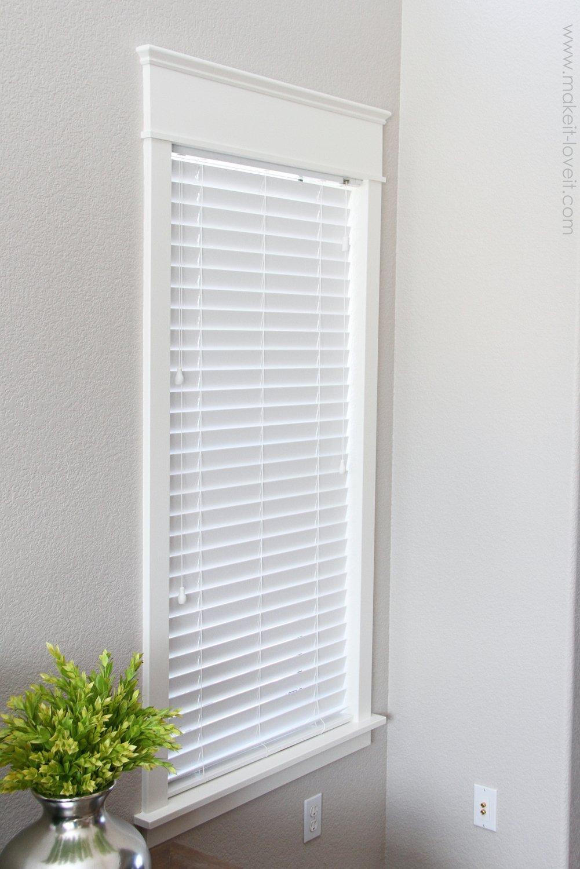 Home Improvement: How to Add Trim Around an Interior ...