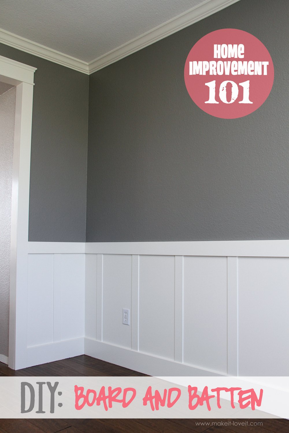 Home Improvement Diy Board And Batten Make It And Love It