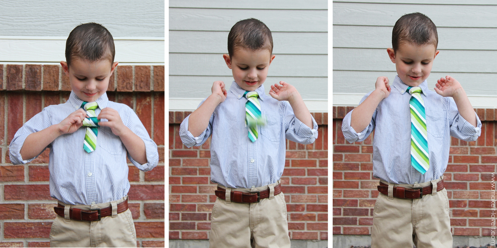 boy neck tie
