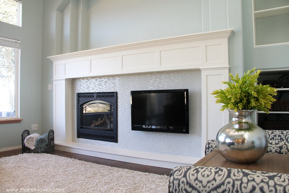 home improvement build your own fireplace mantel hearth rh makeit loveit com how to build your own fireplace mantel how to build your own fireplace blower
