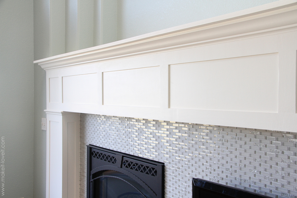 Home improvement build your own fireplace mantel hearth for How much to build a craftsman style home