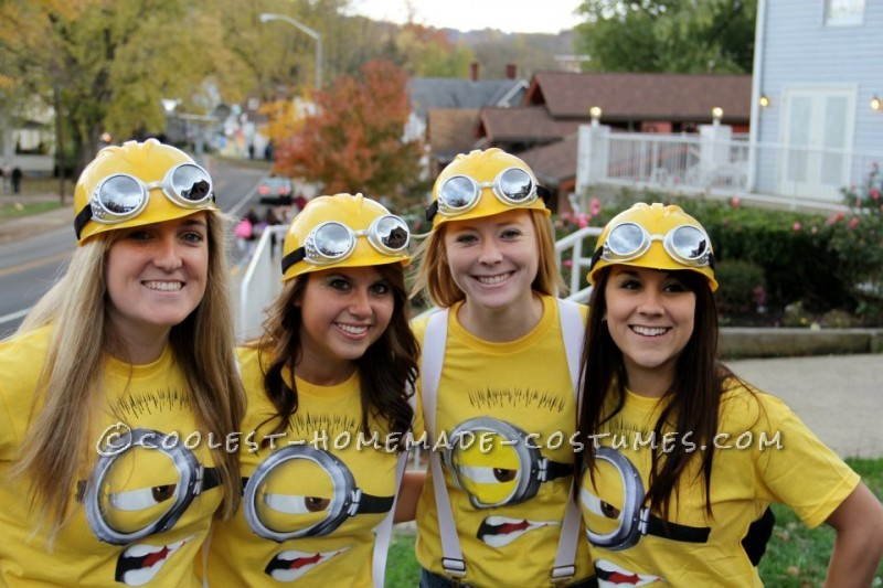 8  sc 1 st  Makeit-Loveit & Halloween Costume Ideas: Minions from Dispicable Me | Make It and ...