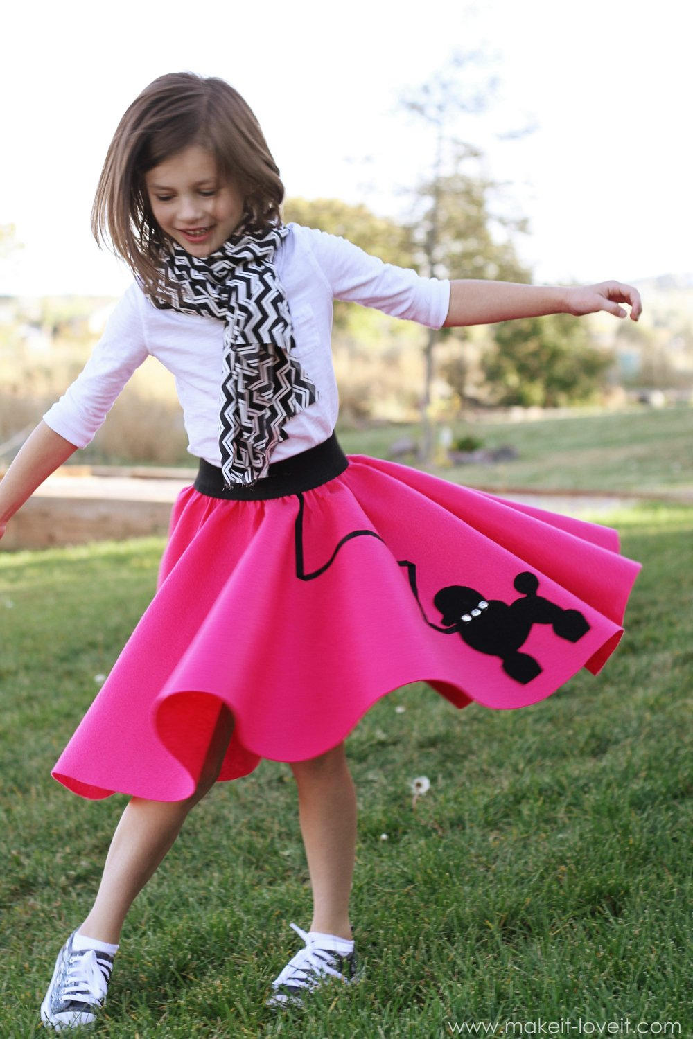 Halloween Costume Ideas Very Low-Sew POODLE SKIRT  sc 1 st  Makeit-loveit & Halloween Costumes | Make It and Love It