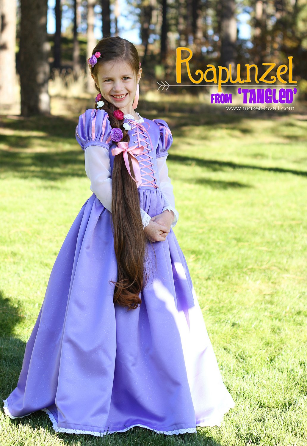 """Halloween Costumes 2013: RAPUNZEL from """"Tangled"""" – Make It and Love It"""