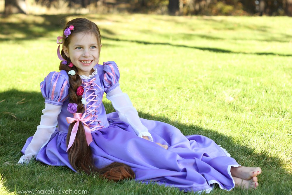 Halloween costumes 2013 rapunzel from tangled make it and love it would you like to make your own rapunzel dress solutioingenieria Images