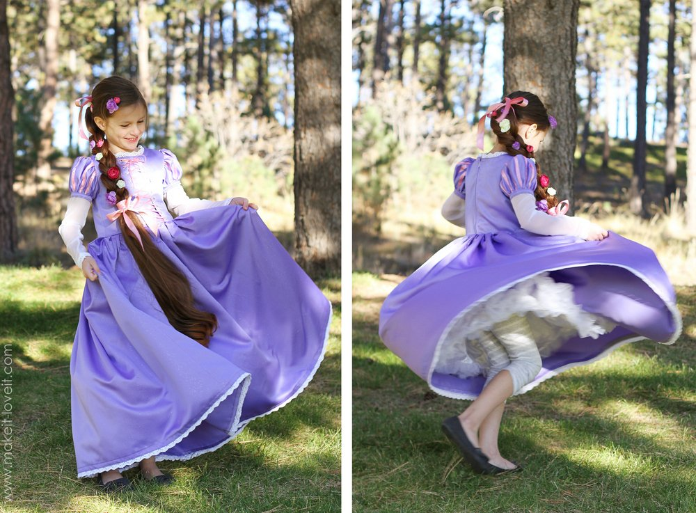 "Halloween Costumes 2013: RAPUNZEL from ""Tangled"" – Make It and Love It"