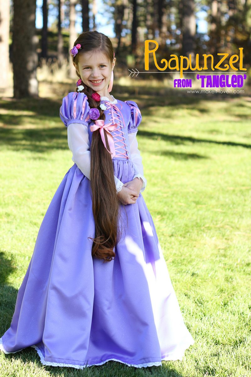 """Halloween costumes 2013: rapunzel from """"tangled"""""""