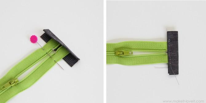 sew zipper ends