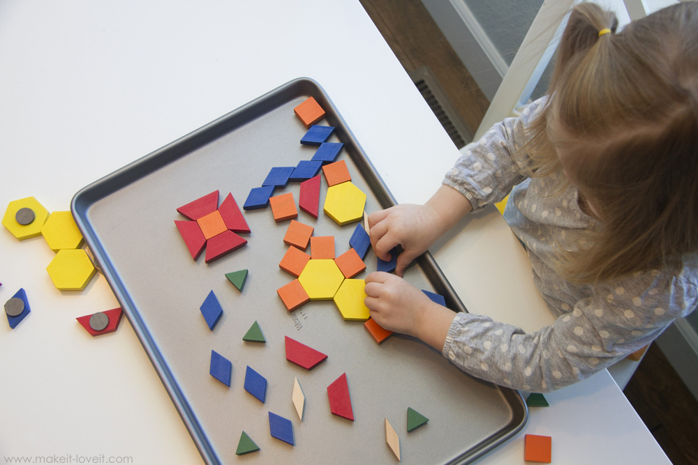magnetic pattern blocks 6