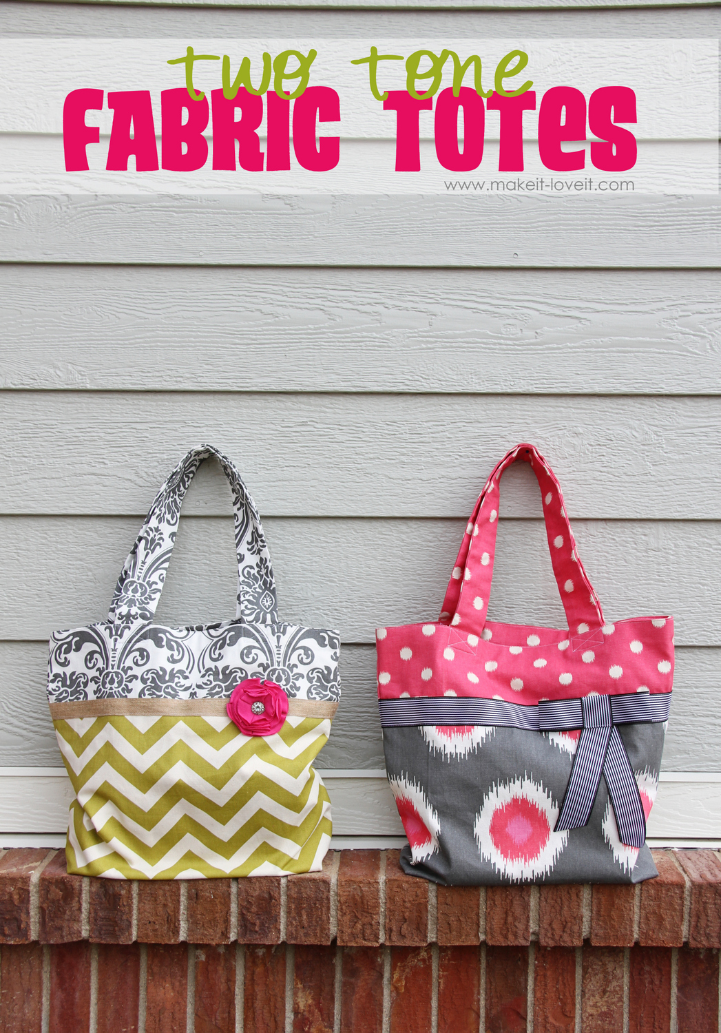 1 fabric totes