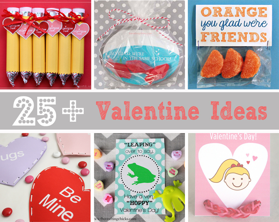25 DIY School and Friend Valentine Ideas --- Make It and Love It