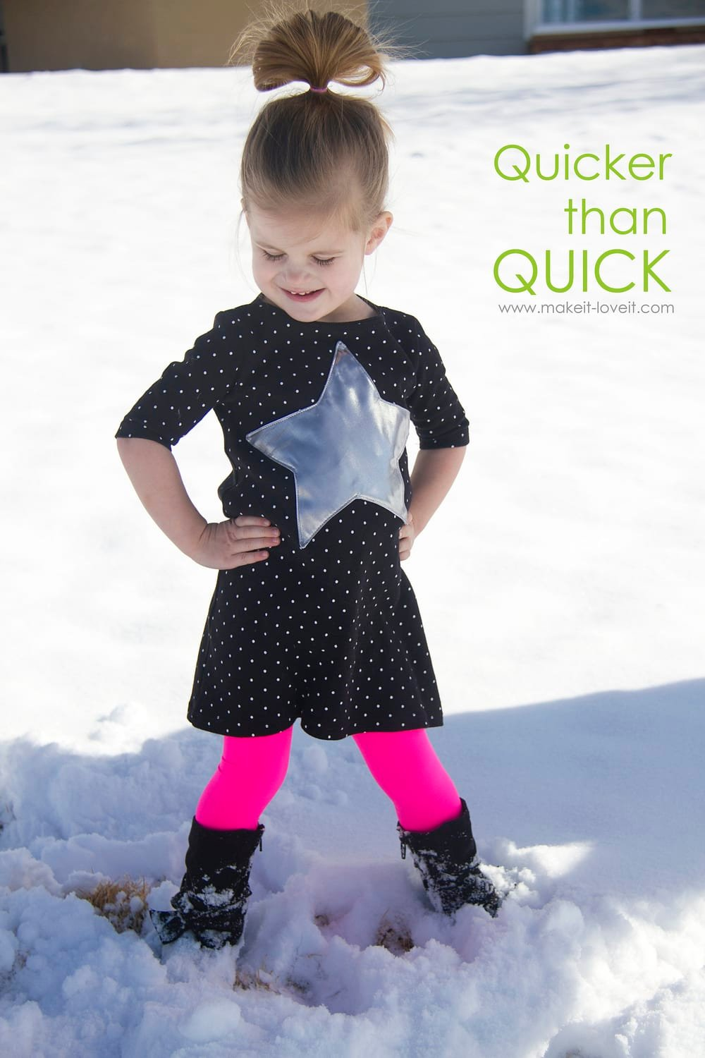 The QUICKEST Toddler Play Dress...you'll ever make! --- Make It and Love It
