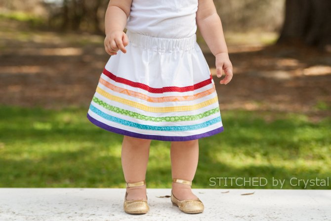 Rainbow Bias Tape Skirt (ashley1.mystagingwebsite.com)