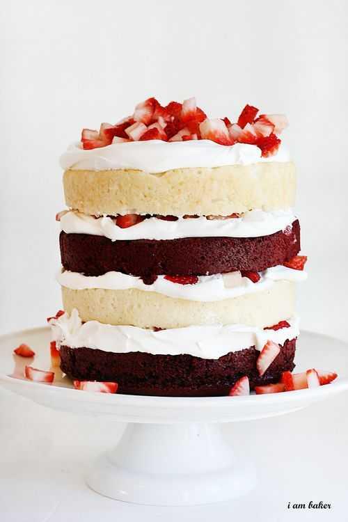 Strawberry shortcake red velvet