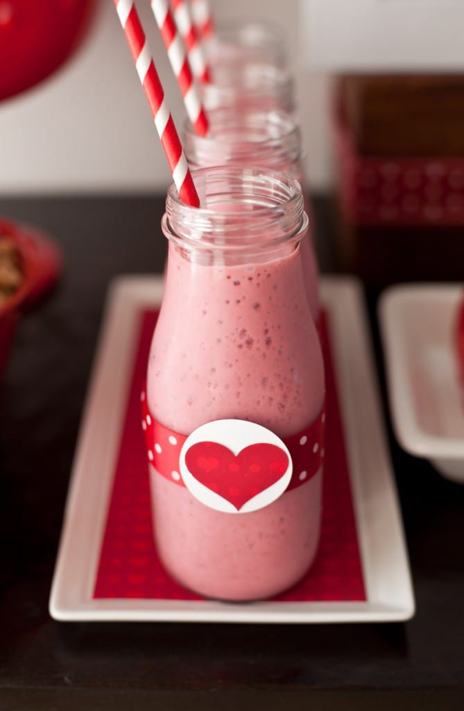 heart smoothie
