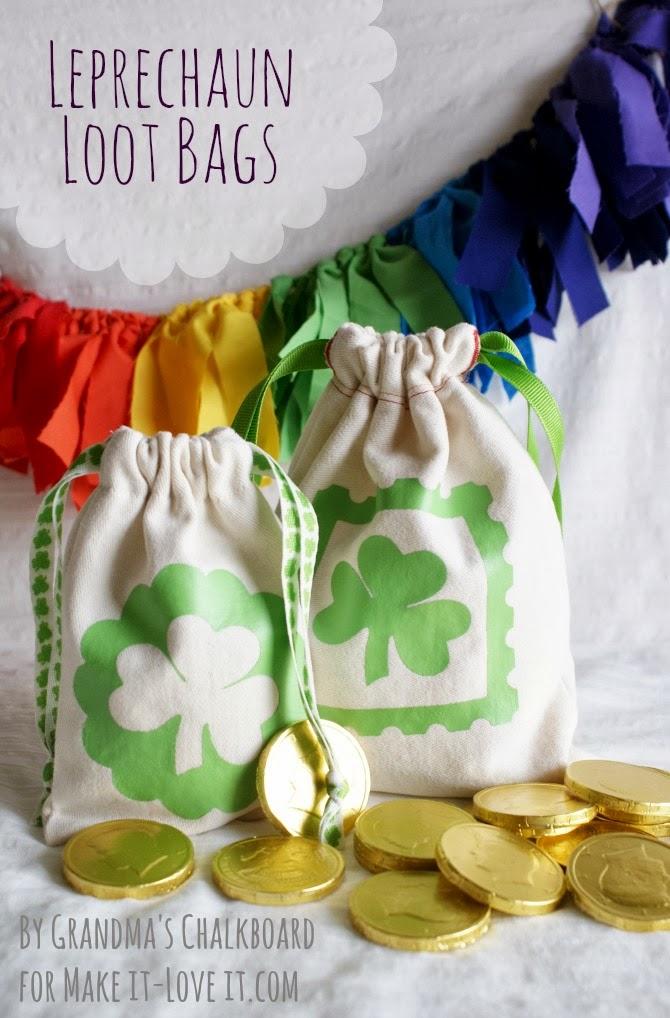 DIY Leprechaun Loot Bags --- Make It and Love It