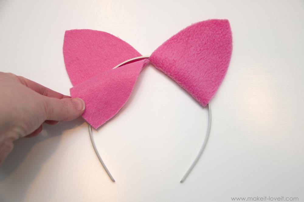 Costume Cat Ears Headband