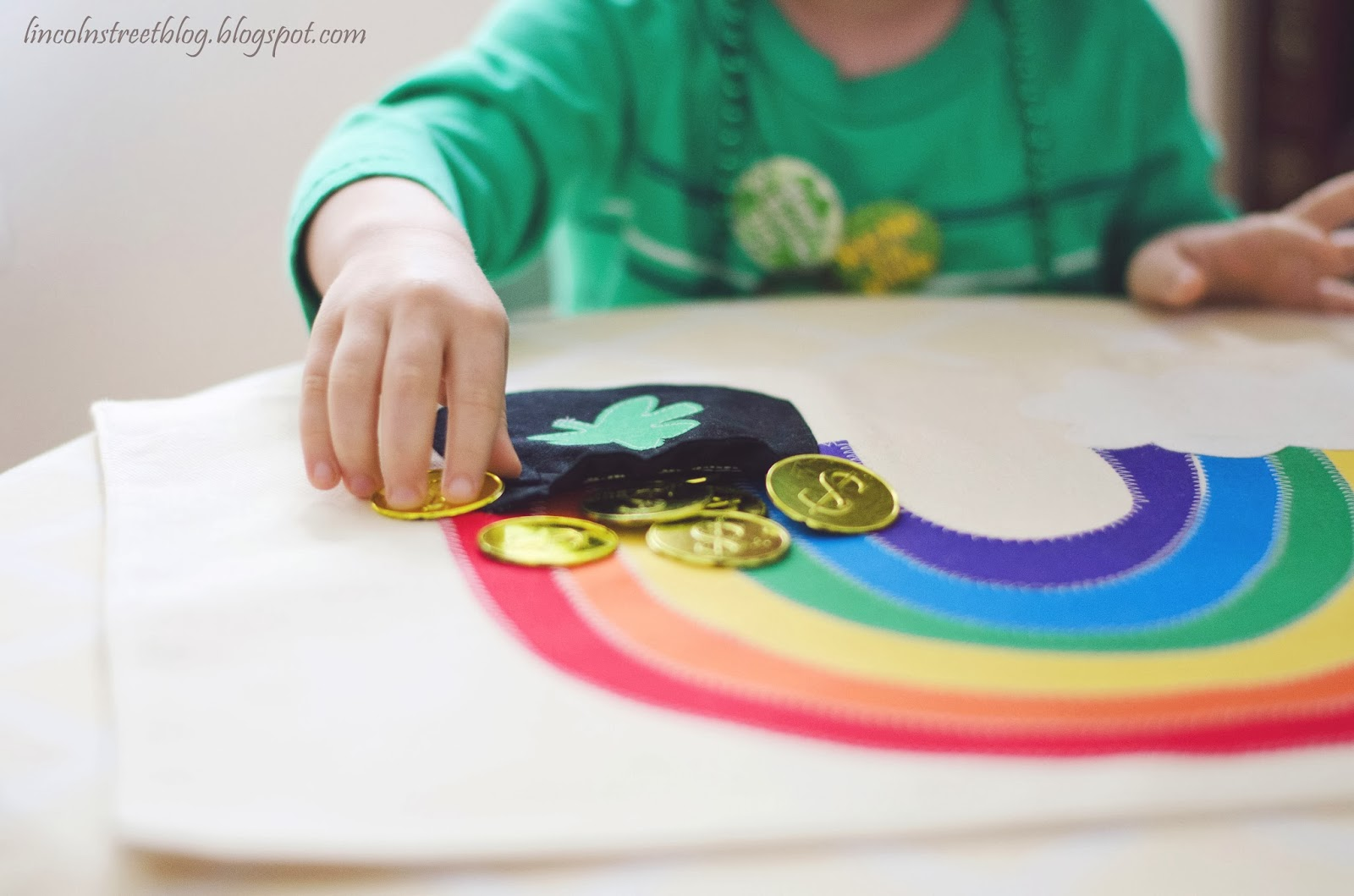 Pot Of Gold Rainbow Placemats Make It And Love It