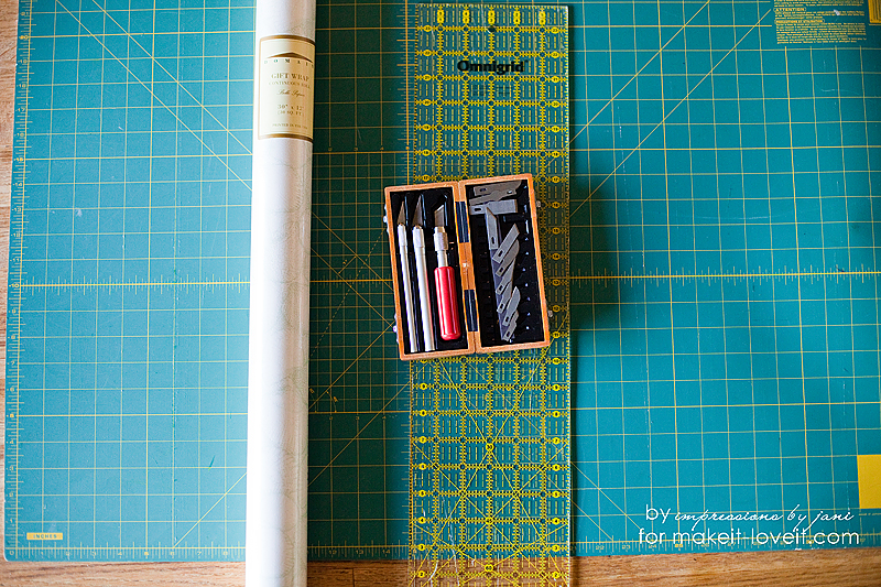 impressions by jani for make it and love it bookcase upcycle
