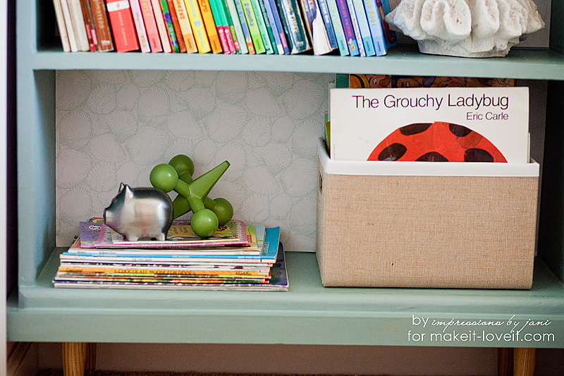 Old Bookcase into Nightstand Update --- Make It and Love It
