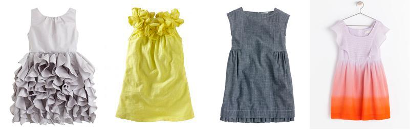 1 girl dresses