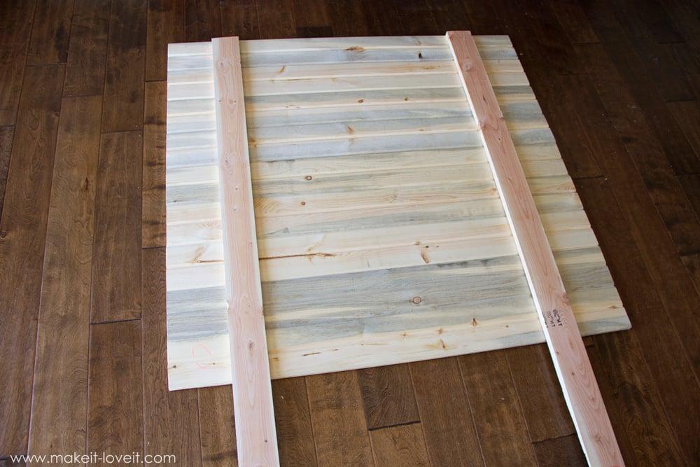 Very Simple Diy Wood Plank Headboard Make It And Love It