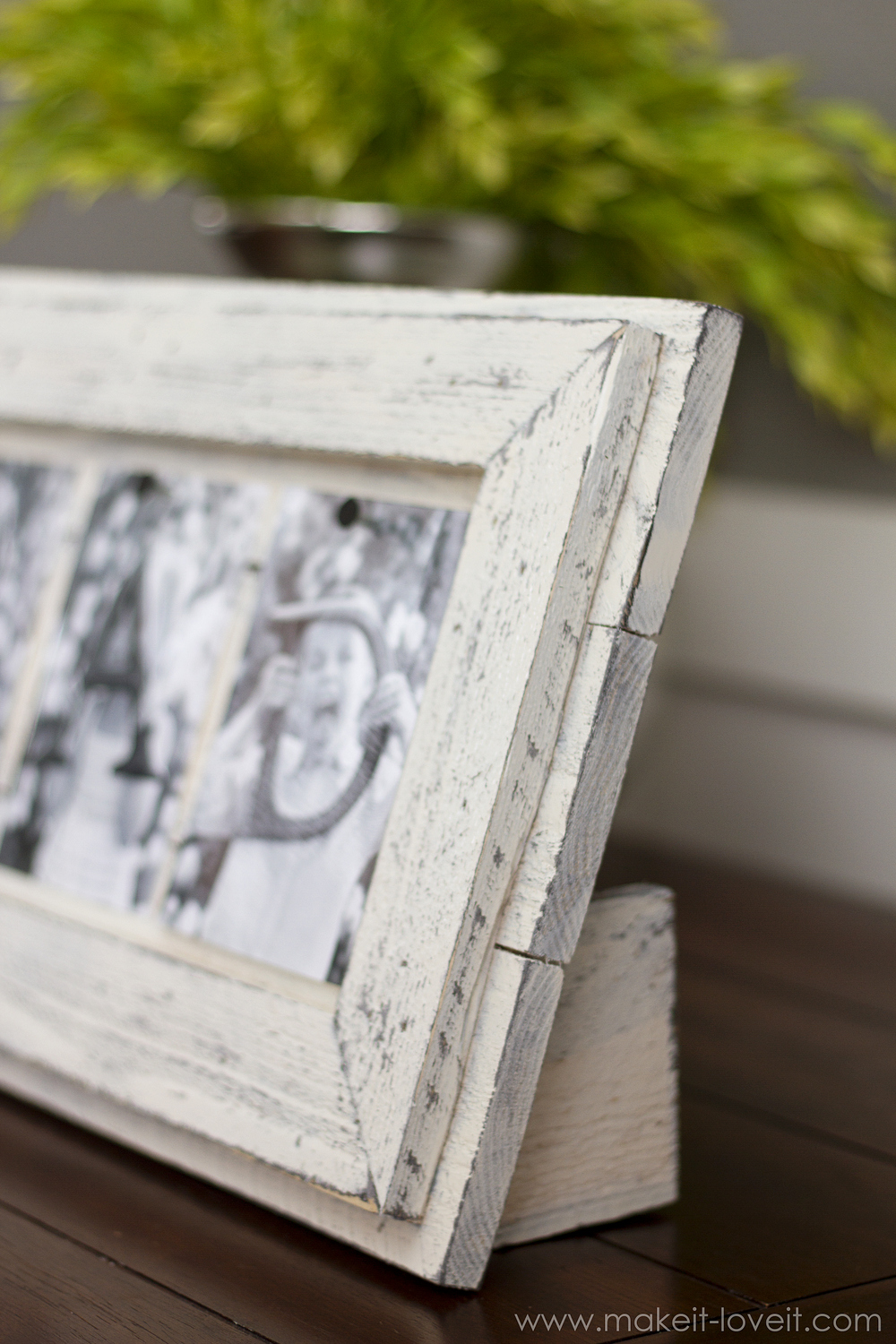 Simple Father\'s Day Picture Frame…from Scrap Wood – Make It and Love It