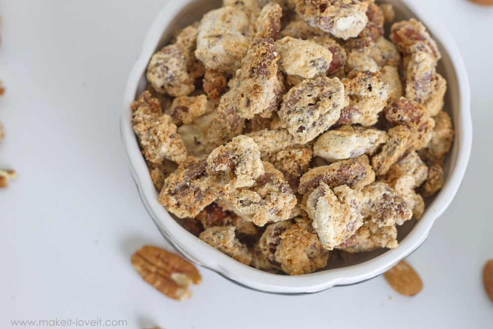 Swedish Nuts: the perfectly sweet/salty and light/airy coated NUT! --- Make It and Love It (in the KITCHEN)