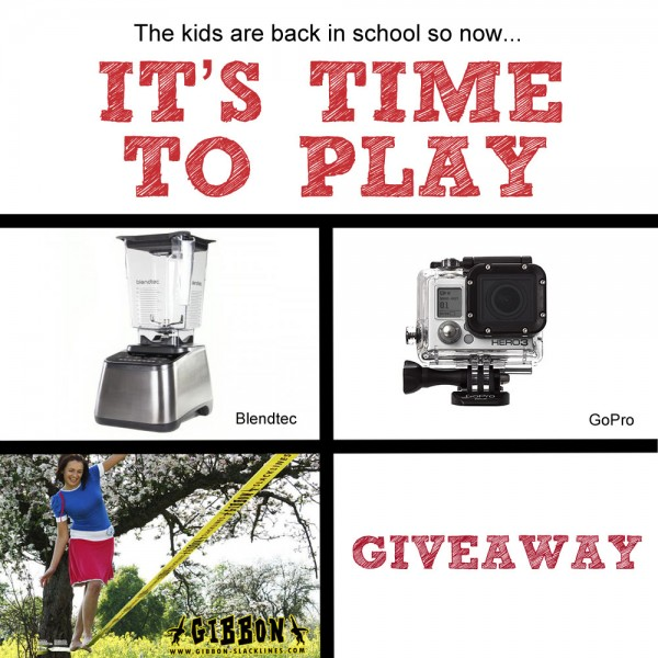 """The kids are back in school…""""it's time to play"""" giveaway! (7 winners!)"""