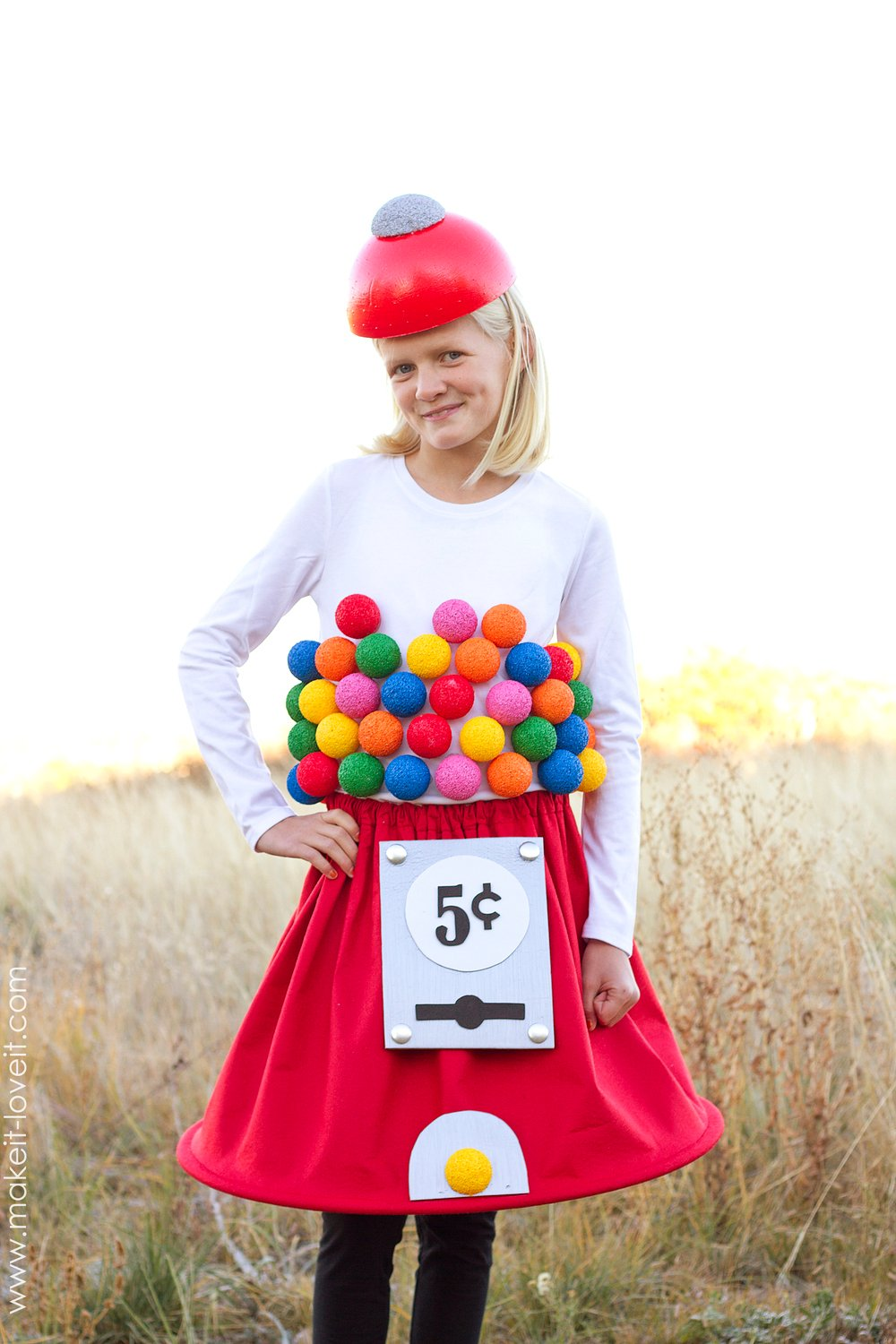 How to make a Gumball Machine Costume -- Click through for full ...