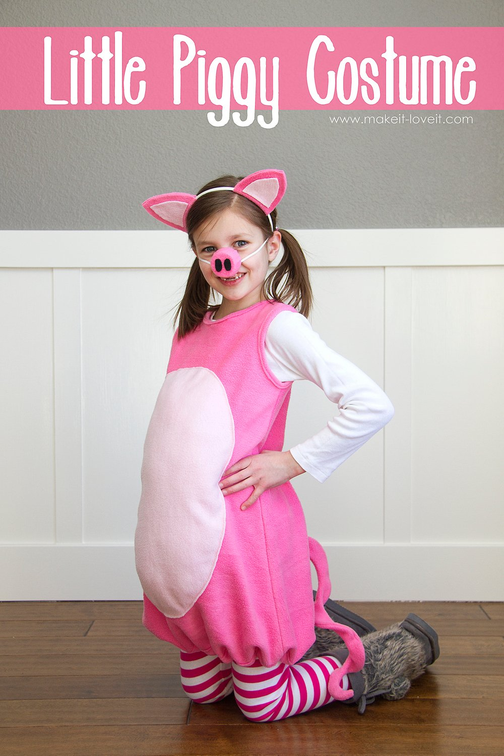 Little-Pig-Costume-with-ears-and-snout1