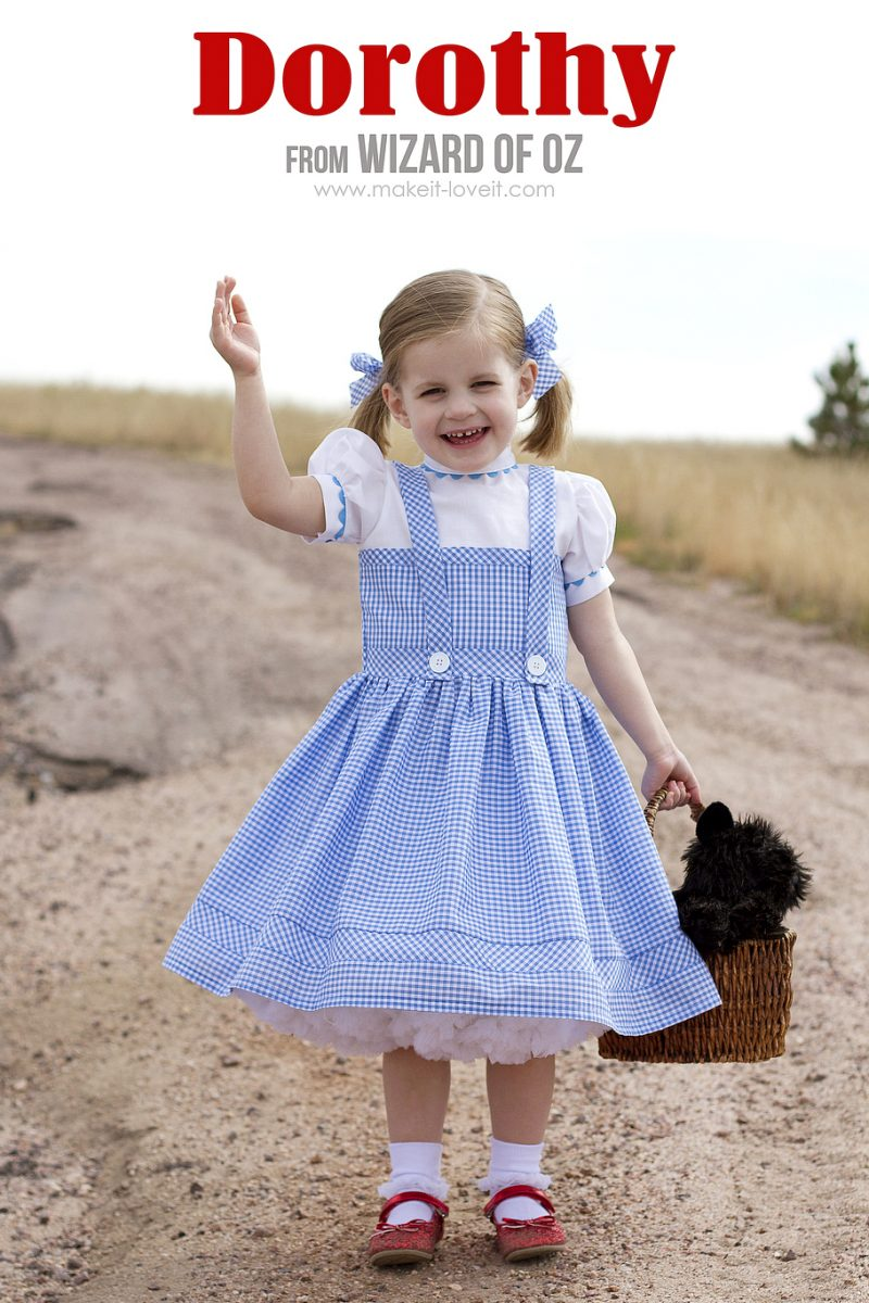 """Halloween 2014: dorothy (from """"wizard of oz"""")"""