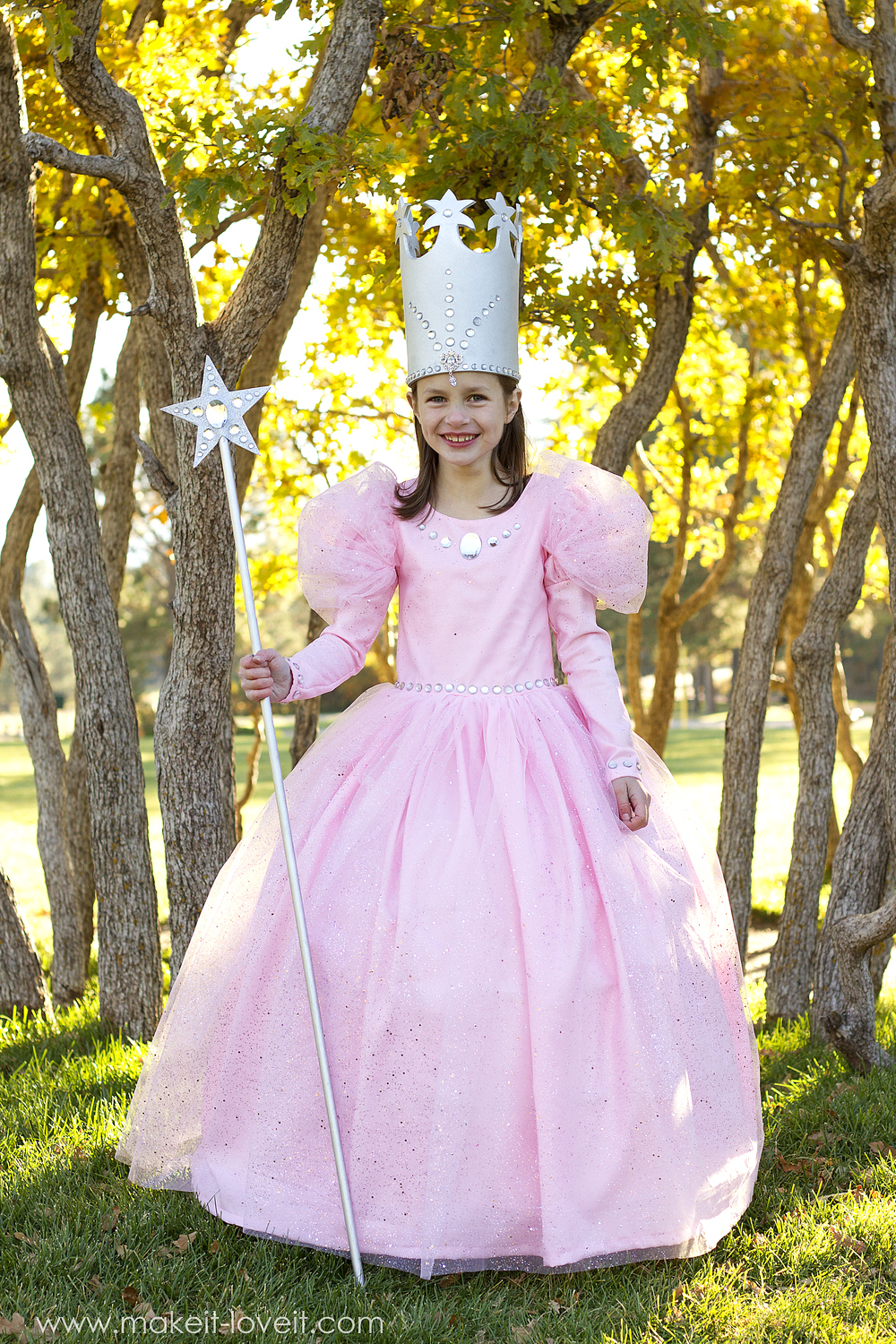 Glinda the good witch from wizard of oz make it and love it diy glinda costume 13 maxwellsz