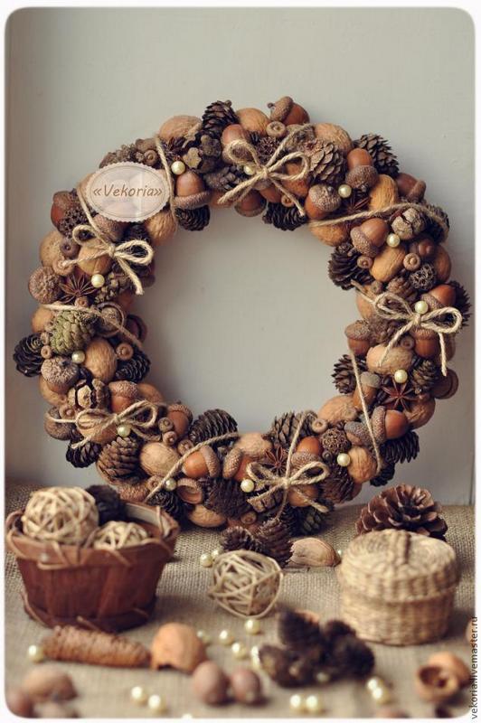 1 acorn-wreath-natural