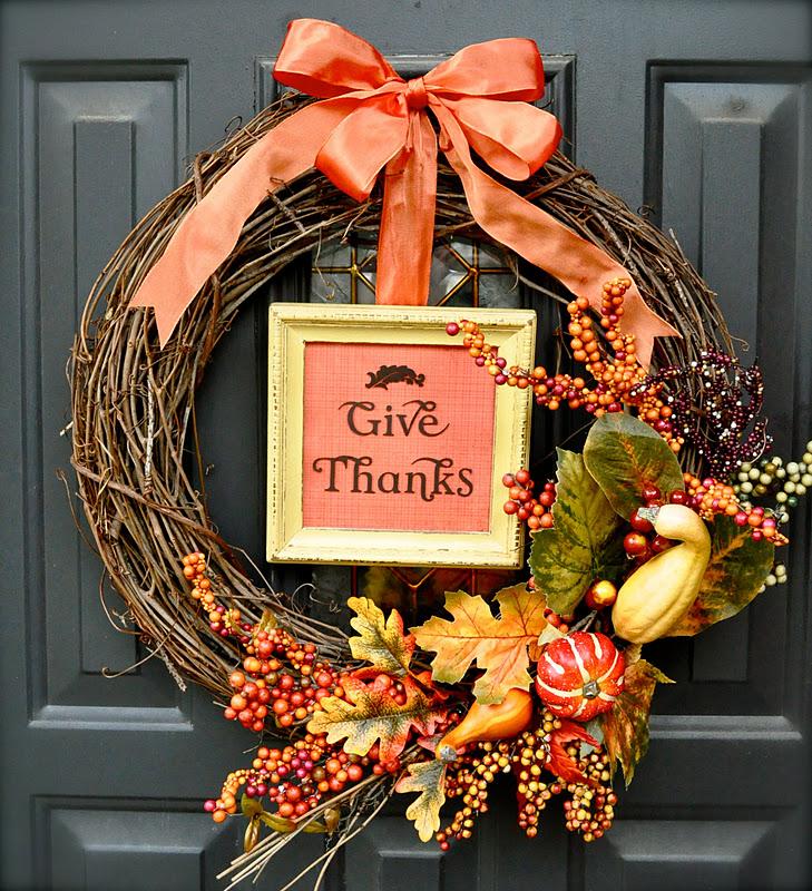 1 fall wreath idea tutorial how to