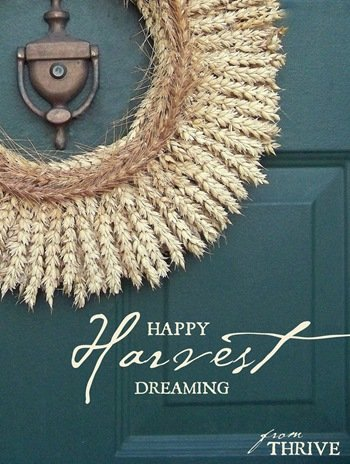 1 wheat wreath