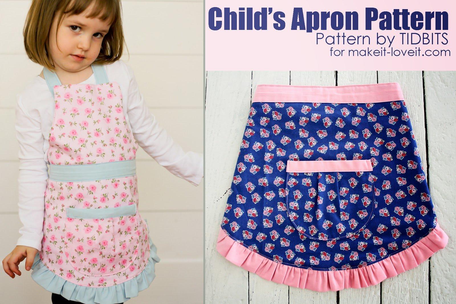 Free Apron Pattern Cool Decorating Design