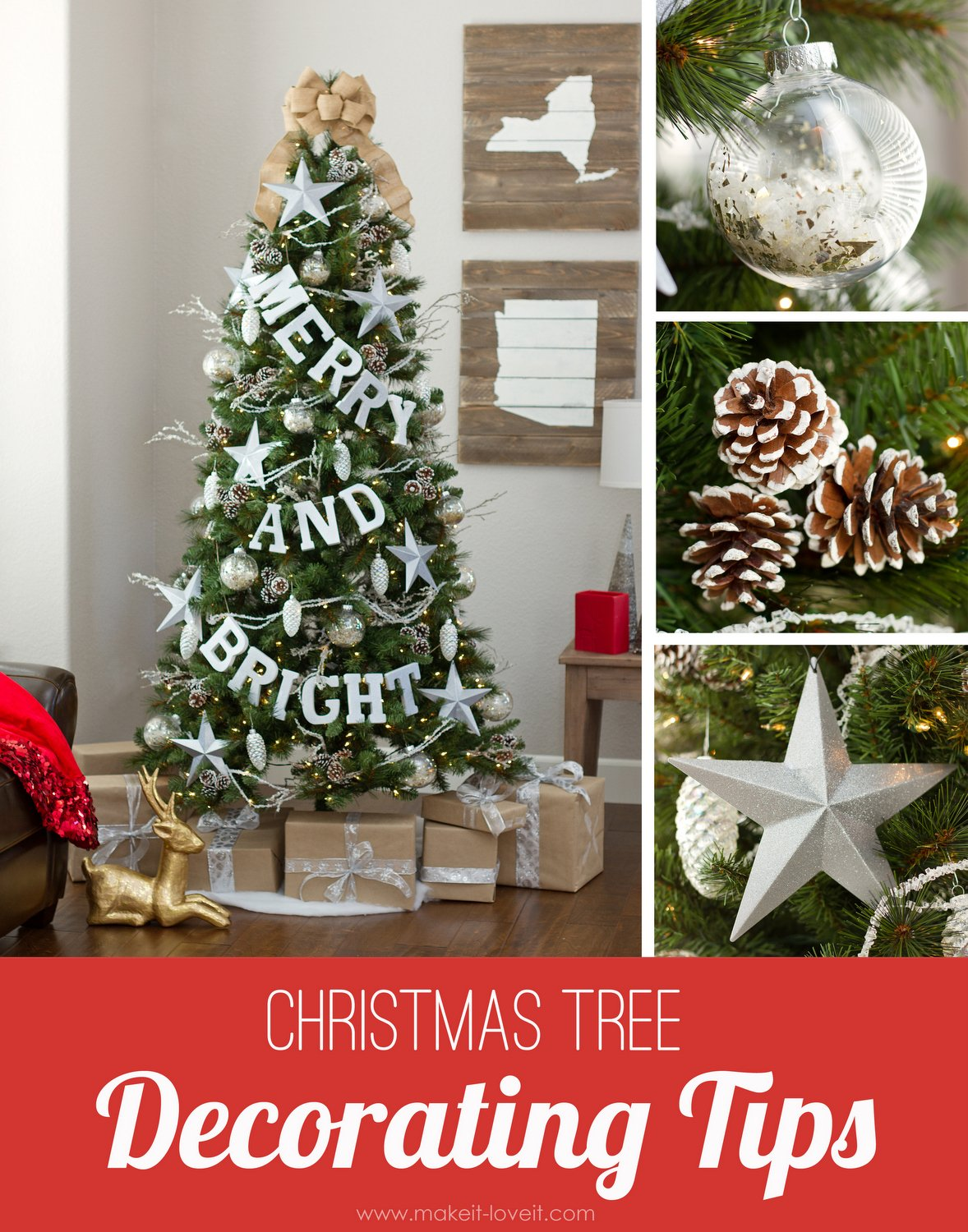 christmas tree decorating tips via make it and love it