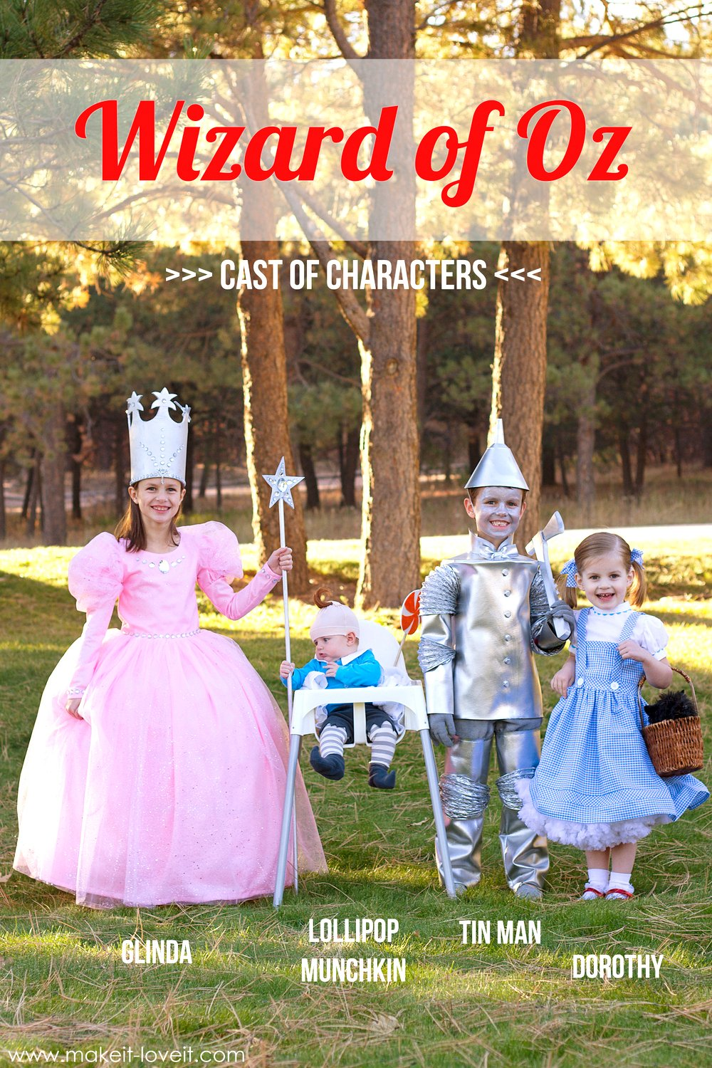 "Halloween costumes 2014: the whole ""wizard of oz"" gang! (…plus a video!)"
