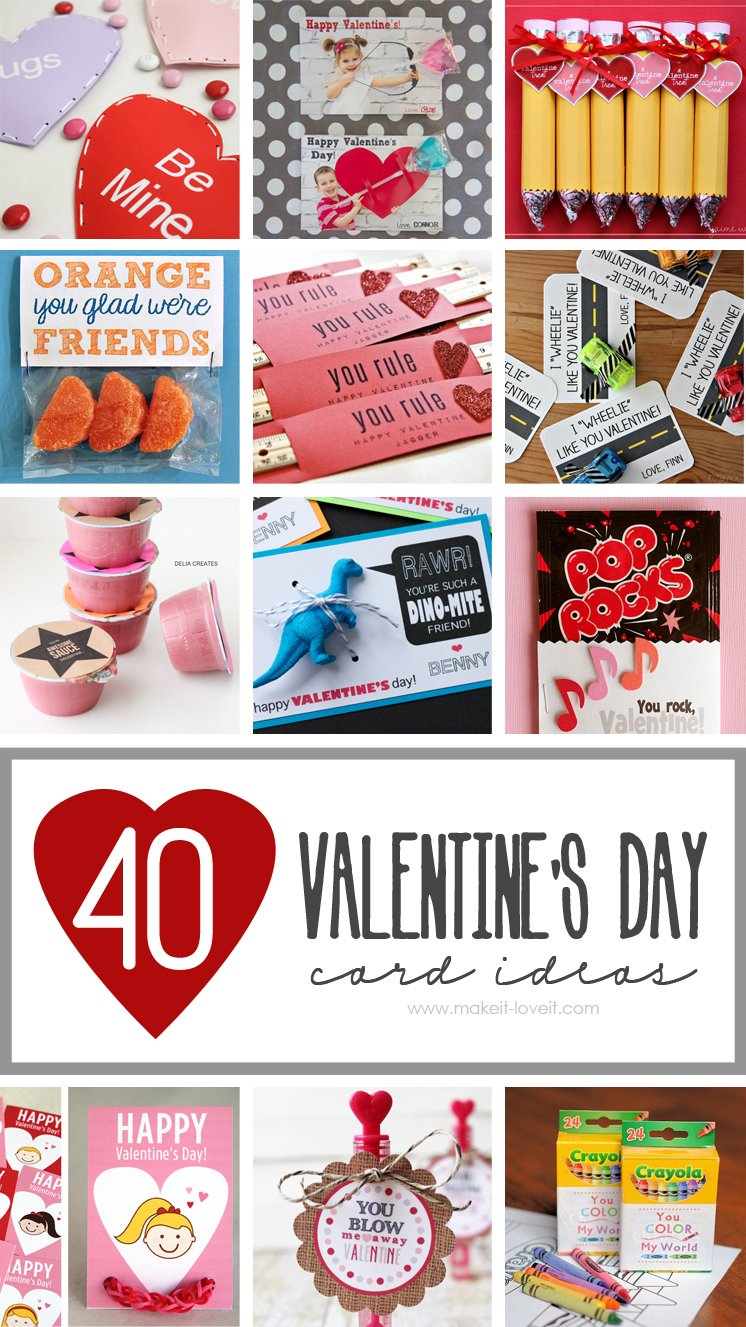 40 Diy Valentine S Day Card Ideas For Kids Make It And Love It