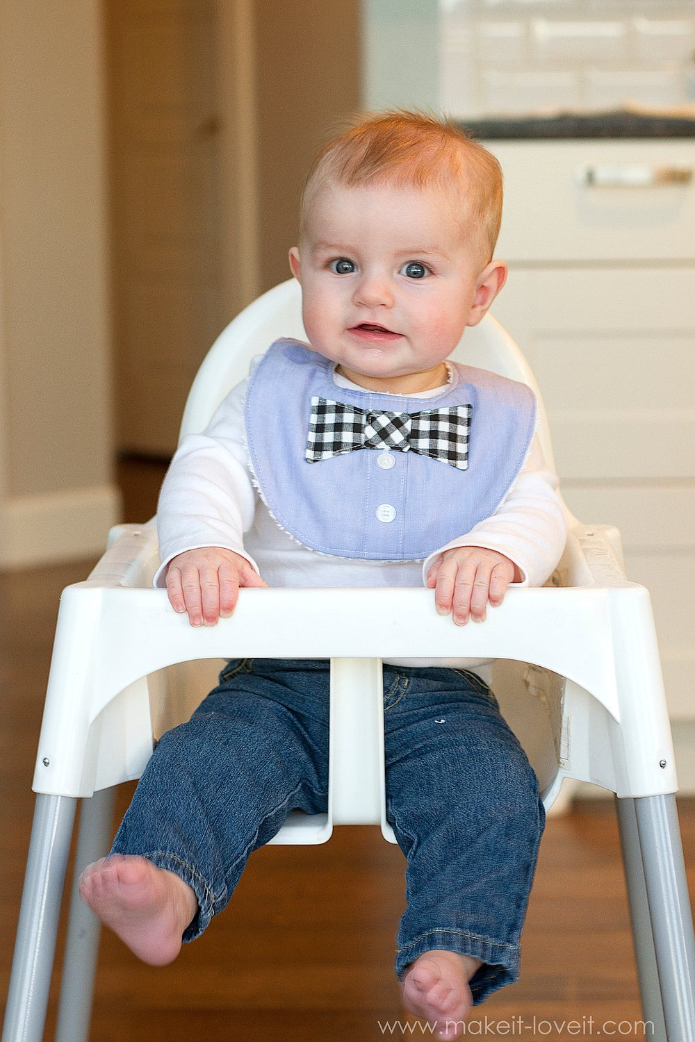 Bow Tie Drool Bibs For Boys From A Men S Shirt